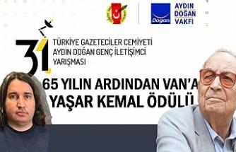 65 Yıl Sonra Van'a Yaşar Kemal Ödülü