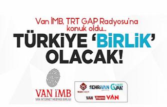 TRT'de Van İMB Konuşuldu