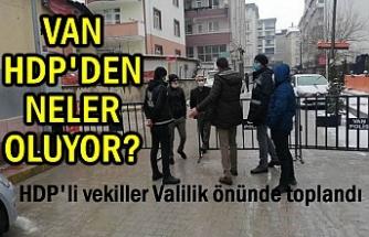 Van'da HDP'nin Önünde Neler Oluyor?