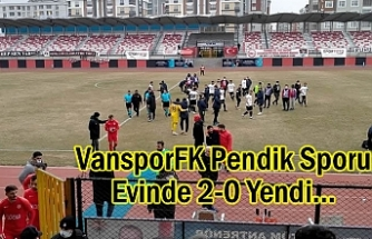 VansporFK Pendik Sporu Evinde 2-0 Yendi