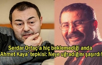 Serdar Ortaç'a 'Ahmet Kaya' tepkisi