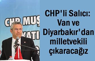 CHP'li Salıcı: Van ve Diyarbakır'dan milletvekili çıkaracağız