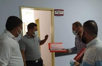 Van'da Öz Sağlık İş Sendikası'dan çalışanlara bayram ziyareti