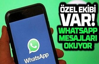 Facebook tüm WhatsApp mesajlarını okuyor!