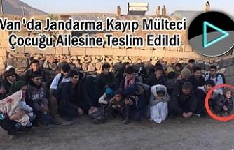 Jandarma Kayıp Mülteci Çocuğu Ailesine Teslim Edildi