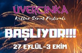 Üvercinka Kültür Sanat Festivali Başlıyor...