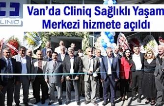 Van'da Cliniq Sağlıklı Yaşam Merkezi hizmete açıldı