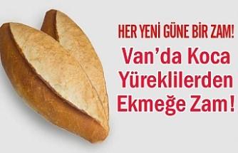 Van'da Koca Yüreklilerden Ekmeğe Zam