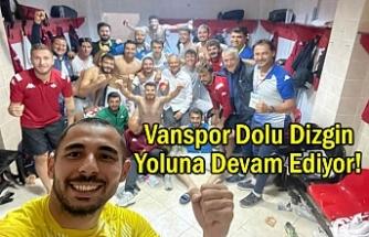 Vanspor'un Yenilmezlik Serisi Sürüyor...