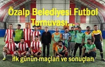 Özalp Belediyesi Futbol Turnuvası