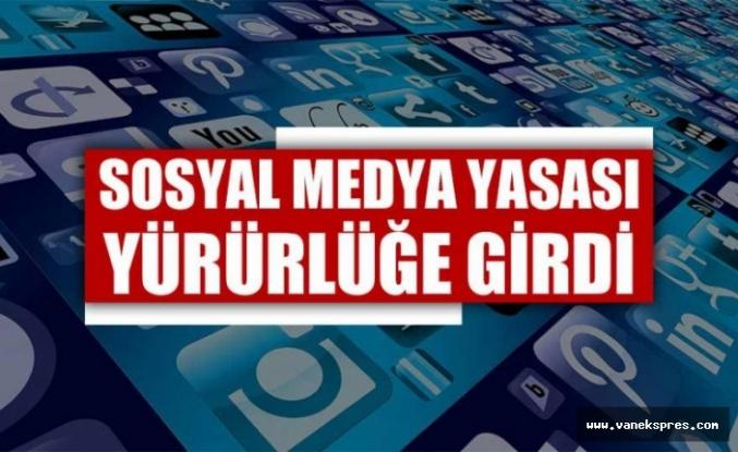 Sosyal medya yasası Resmi Gazete'de