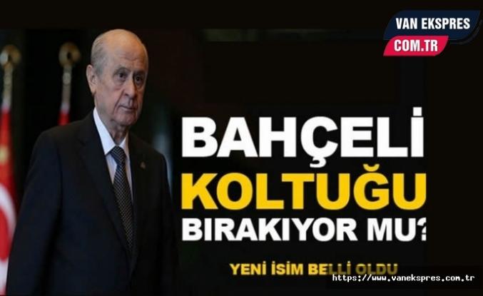 Devlet Bahçeli MHP'yi Bırakıyor mu?