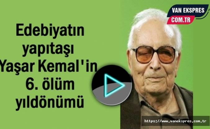 Yaşar Kemal'in 6. ölüm yıldönümü