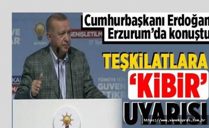 Erdoğan'dan Seçim Sinyalı: Kapı kapı dolaşmalarını istiyorum