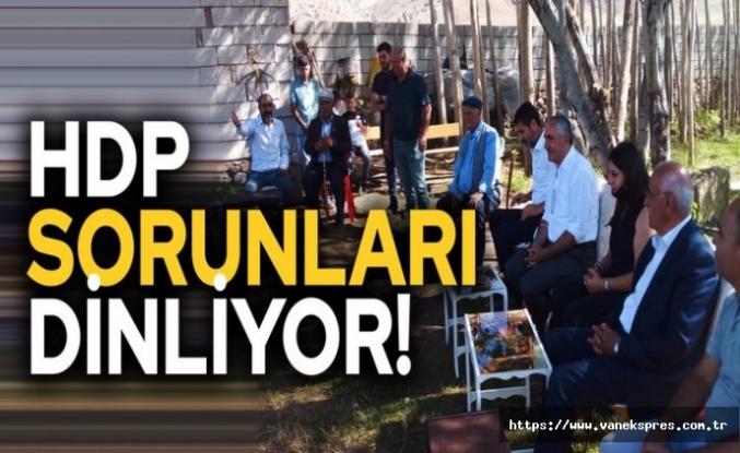 HDP Van'da STK ve Yurttaşların sorunlarını dinliyor