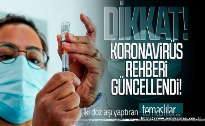 Sağlık Bakanlığından Yeni Karar: İki doz aşı olanlar...