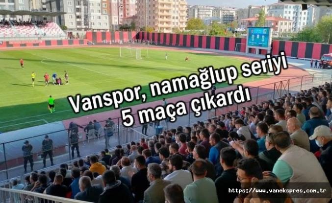 Vanspor, namağlup seriyi 5 maça çıkardı