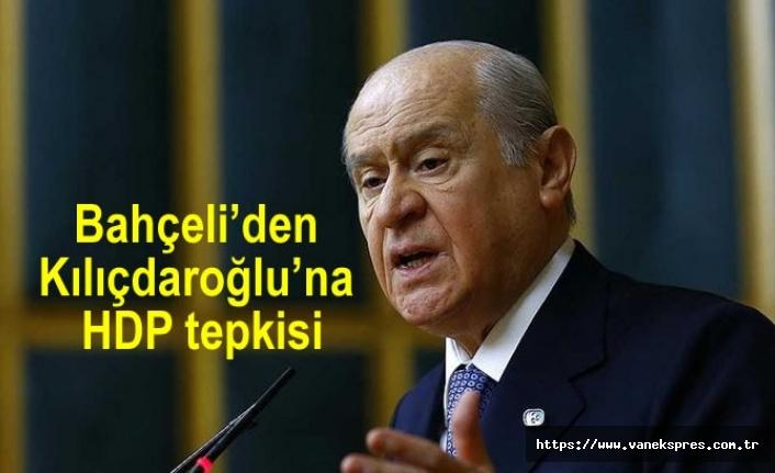 Bahçeli'den Kılıçdaroğlu'na HDP tepkisi